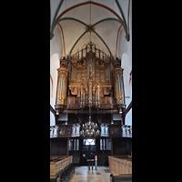Lübeck, St. Jakobi (Kleine Orgel), Große Orgel