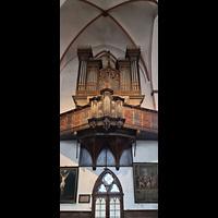 Lübeck, St. Jakobi (Kleine Orgel), Kleine Orgel