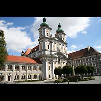 Waldsassen, Stiftsbasilika, Basilika mit Basilikaplatz