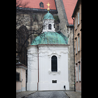 Bratislava (Pressburg), Dóm sv. Martina (Dom St. Martin) - Hauptorgel, Barockkapelle St. Johannes der Gütige von Martin Donner