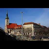 Bratislava (Pressburg), Dóm sv. Martina (Dom St. Martin) - Hauptorgel, Außenansicht