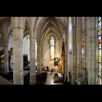 Bratislava (Pressburg), Dóm sv. Martina (Dom St. Martin) - Hauptorgel, Blick von der Orgelempore ins rechte Seitenschiff