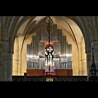 Bratislava (Pressburg), Dóm sv. Martina (Dom St. Martin) - Hauptorgel, Orgel beleuchtet