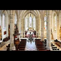 Bratislava (Pressburg), Dóm sv. Martina (Dom St. Martin) - Hauptorgel, Blick von der Orgelempore in den Dom