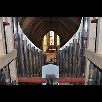 Bratislava (Pressburg), Dóm sv. Martina (Dom St. Martin) - Hauptorgel, Pfeifen im Oberwerk