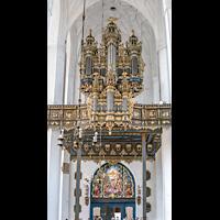 Gdansk (Danzig), Bazylika Mariacka (St. Marien), Orgelempore