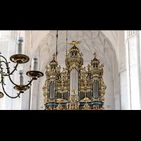 Gdansk (Danzig), Bazylika Mariacka (St. Marien), Prospekt des Hauptorgelgehäuses