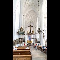 Gdansk (Danzig), Bazylika Mariacka (St. Marien), Hauptschiff in Richtung Chor