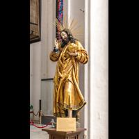 Gdansk (Danzig), Bazylika Mariacka (St. Marien), Vergoldete Christusstatue, Christus Salvator Mundi (1520-1525)