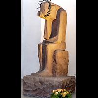 Gdansk (Danzig), Bazylika Mariacka (St. Marien), Skulptur zum Gedenken an die Kriegsgefallenen
