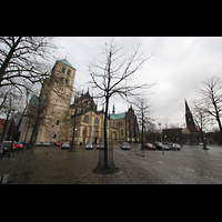 Münster, Dom St. Paulus, Domplatz mit Dom