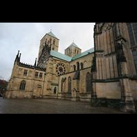 Münster, Dom St. Paulus, Seitenansicht