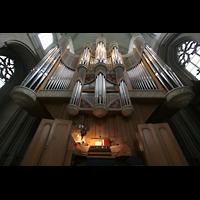 Münster, Dom St. Paulus, Spieltisch und Orgel