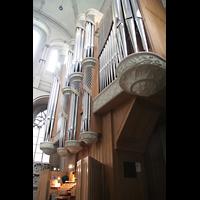 Münster, Dom St. Paulus, Orgel mit Spieltisch