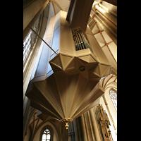 Münster, St. Lamberti (Chororgel), Die 'schwebende' Hauptorgel von hinten