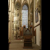 Münster, St. Lamberti (Hauptorgel), Chororgel im Chor