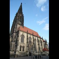 Münster, St. Lamberti (Hauptorgel), Seitenansicht