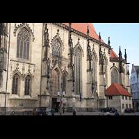 Münster, St. Lamberti (Chororgel), Seitenschiff