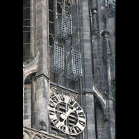 Münster, St. Lamberti (Chororgel), Wiedertäufer-Käfige im Turm