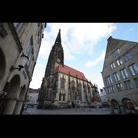 Münster, St. Lamberti (Chororgel), Außenansicht