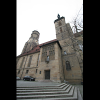 Stuttgart, Stiftskirche (Hauptorgel), Seitenansicht