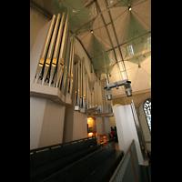 Stuttgart, Stiftskirche (Chororgel), Blick auf die Orgelempore