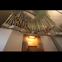 Stuttgart, Stiftskirche (Hauptorgel), Orgelprospekt perspektivisch