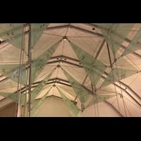 Stuttgart, Stiftskirche (Chororgel), Deckenkonstruktion