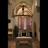 Stuttgart, Stiftskirche (Chororgel), Chorraum