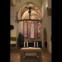 Stuttgart, Stiftskirche (Hauptorgel), Chorraum