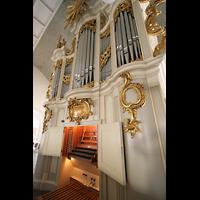 Berlin (Mitte), Französische Friedrichstadtkirche (Französischer Dom), Orgel mit Spieltisch