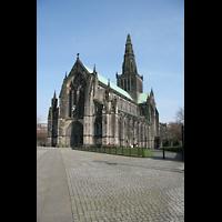 Glasgow, St. Mungo Cathedral, Außenansicht