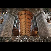 Glasgow, St. Mungo Cathedral, Orgel in der Vierung