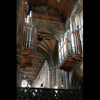 Glasgow, St. Mungo Cathedral, Orgel vom Chor aus