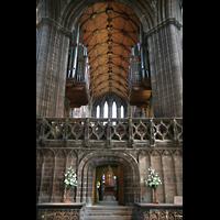 Glasgow, St. Mungo Cathedral, Orgel im Chorraum