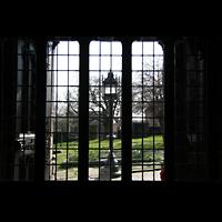 Glasgow, St. Mungo Cathedral, Blick in den Garten