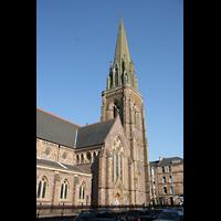 Glasgow, St. Mary's Episcopal Cathedral, Turm und Querhaus