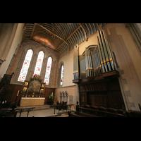 Glasgow, St. Mary's Episcopal Cathedral, Orgel und Chorraum