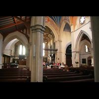 Glasgow, St. Mary's Episcopal Cathedral, Querhaus und Orgel