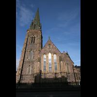 Glasgow, St. Mary's Episcopal Cathedral, Außenansicht von Chor aus