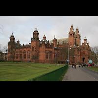 Glasgow, Kelvingrove Museum, Concert Hall, Außenansicht