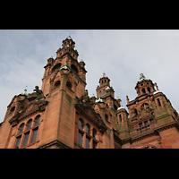 Glasgow, Kelvingrove Museum, Concert Hall, Türme