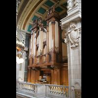 Glasgow, Kelvingrove Museum, Concert Hall, Orgel von der Seitenempore aus