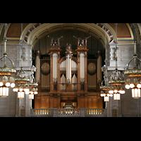 Glasgow, Kelvingrove Museum, Concert Hall, Orgelprospekt