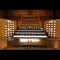 Glasgow, Kelvingrove Museum, Concert Hall, Spieltisch