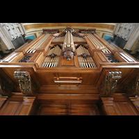 Glasgow, Kelvingrove Museum, Concert Hall, Orgelprospekt perspektivisch