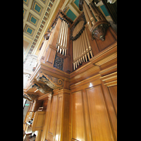 Glasgow, Kelvingrove Museum, Concert Hall, Seitenansicht der Orgel