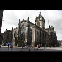 Edinburgh, St. Giles' Cathedral, Außenansicht vom Chor aus
