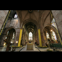 Edinburgh, St. Giles' Cathedral, Blick vom Altar in Richtung Hauptportal
