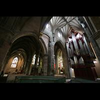 Edinburgh, St. Giles' Cathedral, Orgel und Querhaus